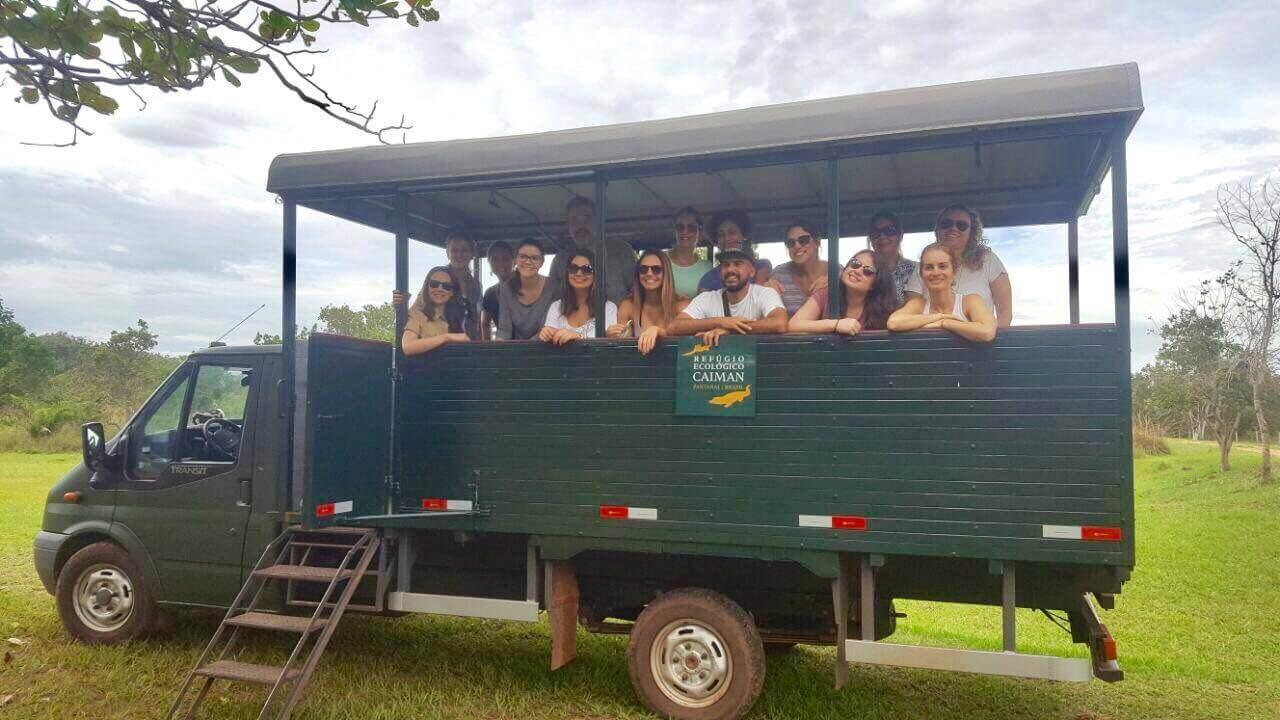 Foto do grupo o truck